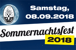 SVO-Sommernachtsfest am 08. September